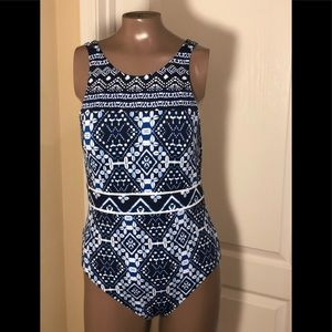 Tommy Bahama Cowrie Hi Neck Dual Strap Swimsuit
